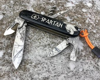 Victorinox Spartan antiquity Wars Black Limited edition