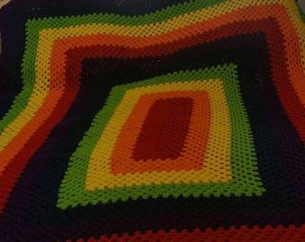 Rainbow Granny Square