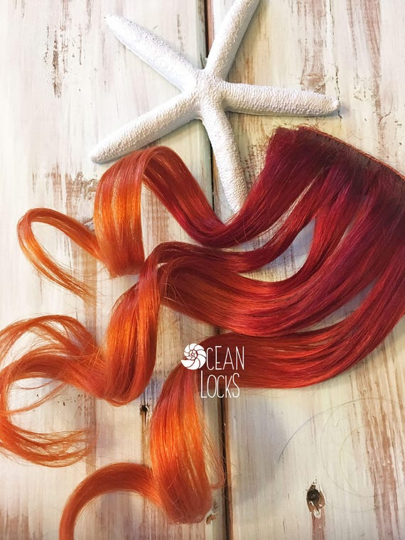 Red Hair Extensions Hair Extensions Clip In Ombre Hair