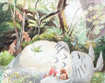 Castle of Dreams My Neighbor Totoro - Giclee Print