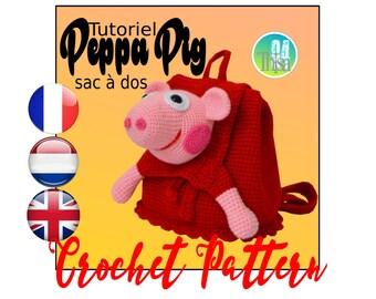 Peppa Pig bag tutorial