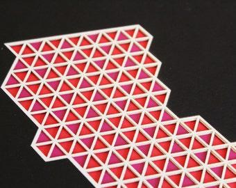 California Layered Lasercut Artwork
