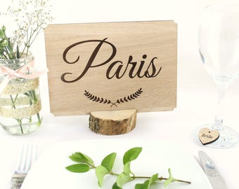 Wedding Table Names, Wooden Table Names, Wedding Table Numbers, Wooden Table Numbers, Freestanding Wedding Table Names/numbers,Wedding decor