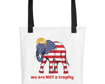 Wildlife Is NOT A Trophy Tote bag