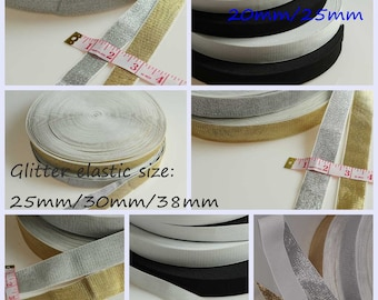 Stretch Elastic Sewing Supply Wide Elastic Sold by Meter UK