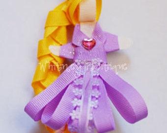 Princess Rapunzel Hair Clip