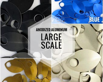 LARGE Scale - Anodized Aluminum 50 Stück/Pack