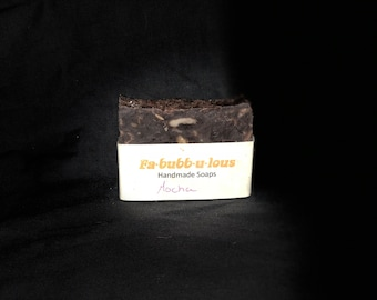 Mocha Soap / Homemade All Natural Soap / Coffee Chocolate