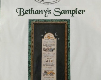 Dragon Dreams Bethany's Sampler Counted Cross Stitch Designs by Jennifer L Aikman-Smith DD#66
