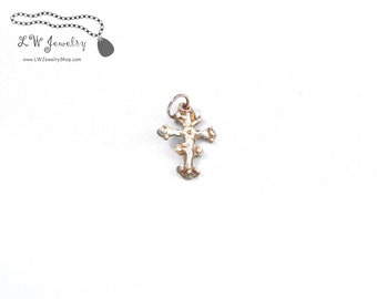 Byzantine, Cross, eastern rite, Fine Silver, Silver, Pendant,  handmade jewelry,  silver jewelry, handmade pendant, handmade cross