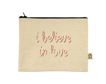 Ich glaube an Liebe Beutel
