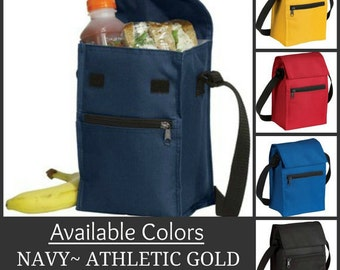 Personalized Insulated Lunch Cooler