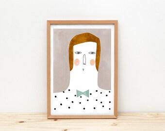 Emilio - print - 8 x 11.5 - A4