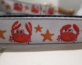 Crabby Collar Adjustable Dog Collar Made to Order