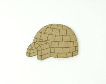 Igloo made of medium size 5cm
