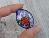 Orange Tattoo Style Rose ...