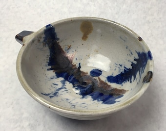 unique handmade ceramic bowl - Whipping bowl - kitchen necessity - cereal bowl - nubbed bowl - kitchen mixing bowl