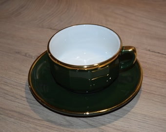 Large Cup with a plate