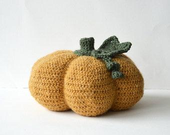 Pumpkin Crochet Pattern, Halloween Pumpkin Crochet Pattern, Seasonal Crochet Pattern, Autumn Crochet Pattern, Crochet Pumpkin Pattern