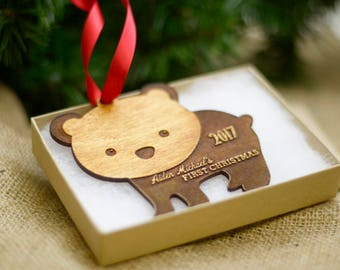 Grandma Gift Pregnancy Announcement Pregnancy Reveal to Family Grandma Ornament New Grandma Gift Grandparents New Grandma to Be Gift
