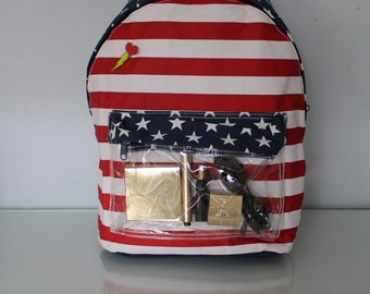 Patriot American Flag Backpack