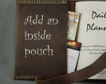 Add a Pocket to Your Custom Handmade Leather Journal