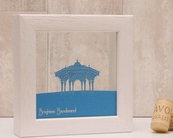 Brighton - Bandstand Mini Wall Art