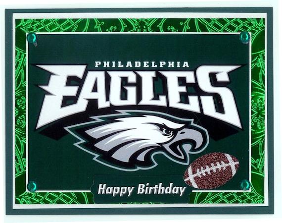 Philadelphia Eagles Birthday Card