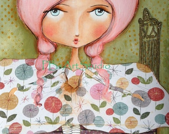 The Princess and the pea- PAPER PRINT