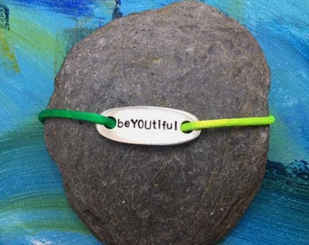 """Shoe Tag,  """"beYOUtiful"""" 