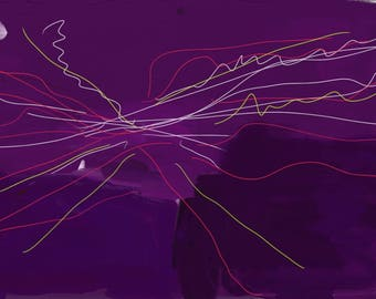 Digital Abstract Art Digital Downloadable Art Abstract Art Graffiti Style Art