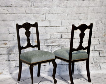 Early 20th Century Chairs (Pair)