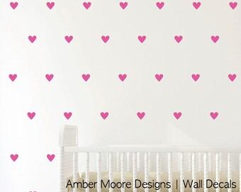 Heart Wall Decals - Heart Decal - Heart Decor - Heart for Wall Decor - Heart Stickers - Heart Vinyl Decal - Heart Wall Decor - Heart Decals
