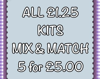 Mix & Match Any 5 Xmas Kits