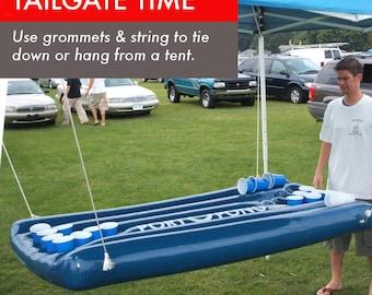 Floating Beer Pong Blue Port O Pong  (70% OFF SALE)
