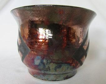 Raku Bowl - Decorative