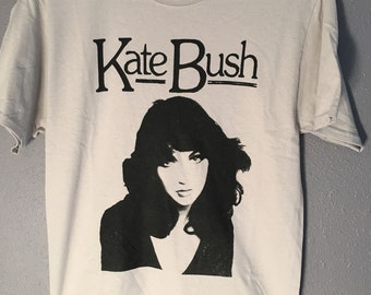 Kate Bush Running Up That Hill Hounds of Love Wuthering Heights Babooshka tee