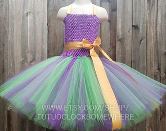 Customizable Mardi Gras Tutu Dress, Mardi Gras Dress, Mardi Gras Party, Mardi Gras Outfit, Mardi Gras Costume, Mermaid Tutu Dress