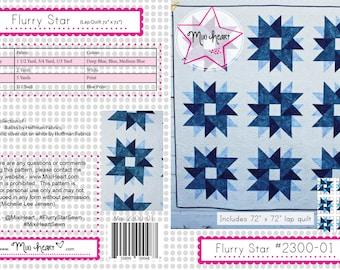 Flurry Star PDF Quilt Pattern
