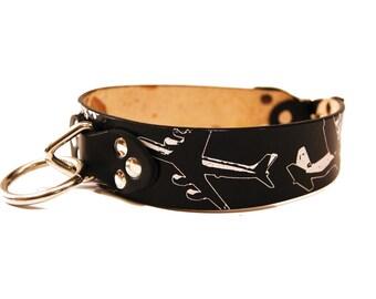 Flying Plane Airplane Pilot Dog Collar