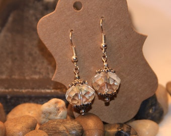 Handmade Earrings Sterling Silver hooks