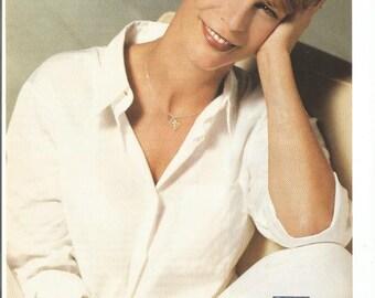 1997 Advertisement Equal Sweetener Jamie Lee Curtis Was Here 90s Health Sugar Alternative Celebrity Fan Wall Art Decor