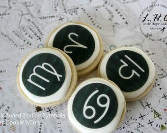 Zodiac Sugar Cookies 1 DOZEN