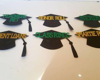 Graduation Candy Jar Tags