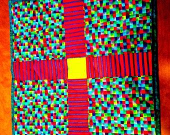 Table Topper - Bright Colorful Multi