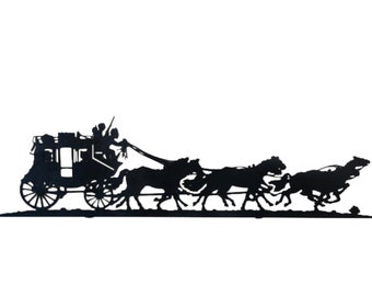 Stagecoach Wall Art