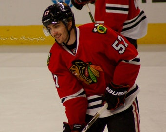 Trevor van Riemsdyk, Chicago Blackhawks, Hockey Decor, Photography