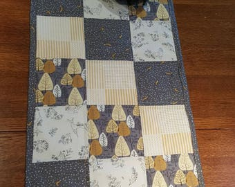 Forest Findings Quilted Table Runner - Free Shipping!