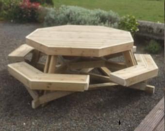 Huge garden bench  table