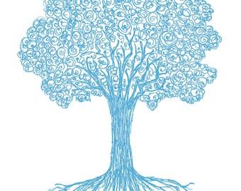 Tree Series: Spring Tree